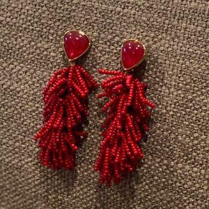 Stella & Dot Jewelry - Stella & Dot 2 n 1 Riva Tassel Earings